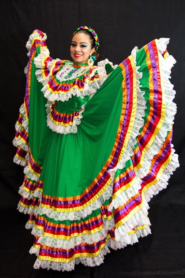 Jalisco Gala Dress