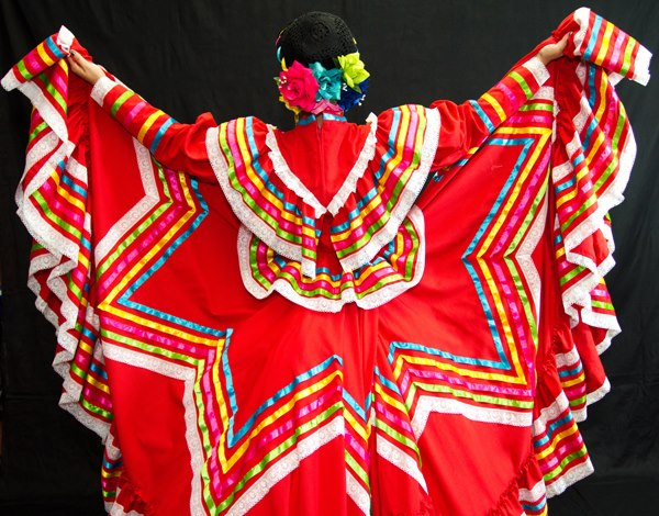 Jalisco Dress With A Star