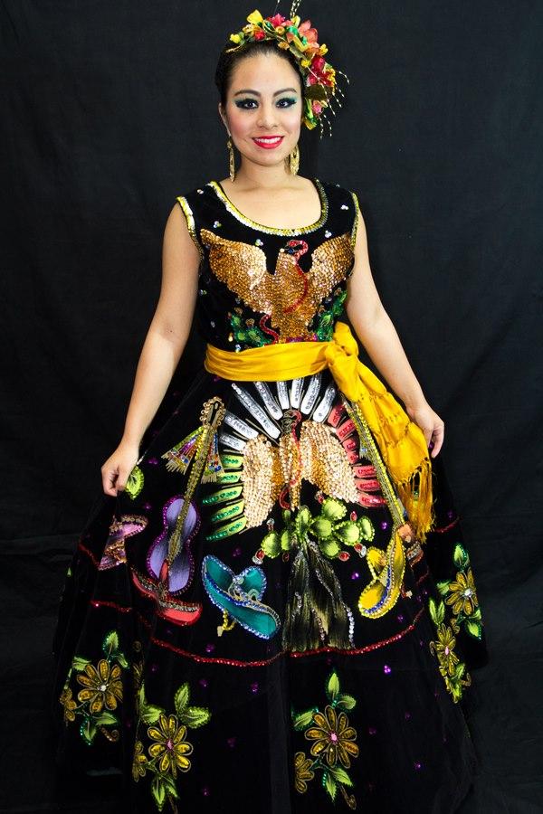 China Poblana Gala Dress Olveritas Village