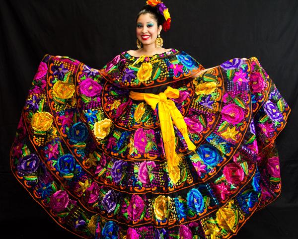 Chiapas Gala Dress