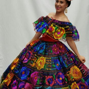vestido de chiapas