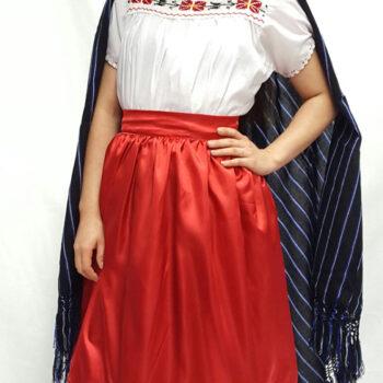 vestido michoacan