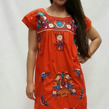 vestido tehuacan